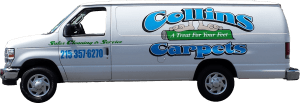 Collins Carpets Truck